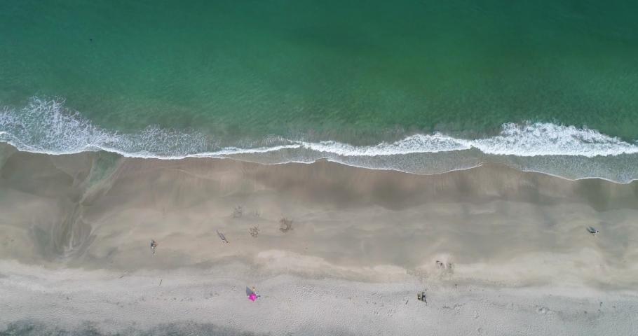 Aerial drone footage of the beautiful sea in Izu Peninsula, Japan | Shutterstock HD Video #1034844164
