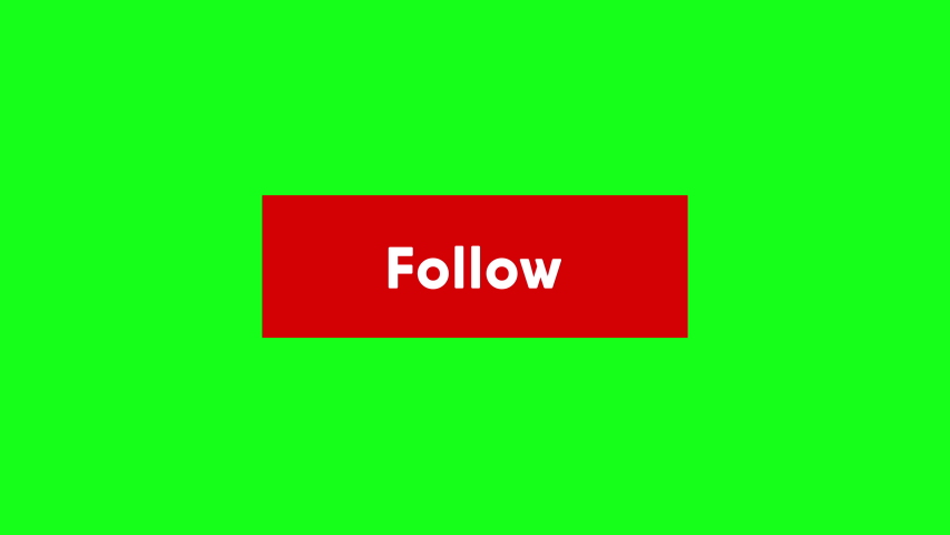 Follow Button Social Media Website App Pressed Hover on Background | Shutterstock HD Video #1035522134