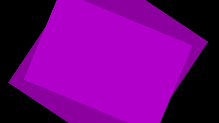 Ultra HD 4k video of Concentric cartoon square transition animation on a black png background. | Shutterstock HD Video #1035544694