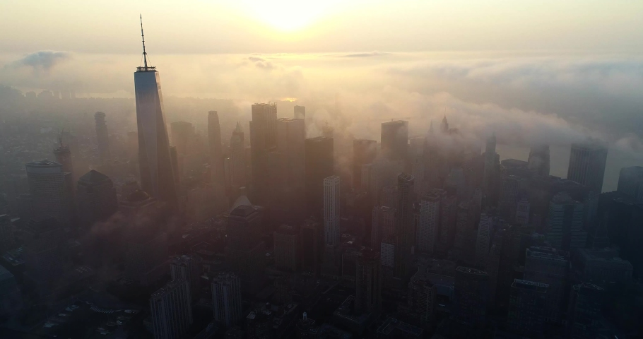 New York City Aerial 4k | Shutterstock HD Video #1035554144