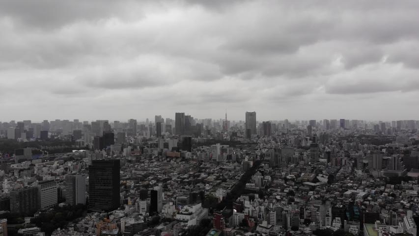 YOYOGI PARK TOKYO JAPAN DRONE | Shutterstock HD Video #1037333894