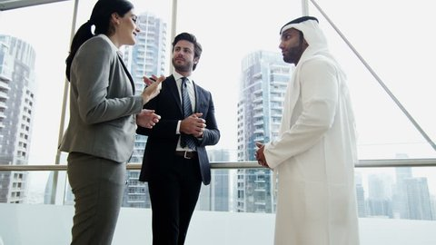 Western Gulf Region business male female travel conference convention meeting