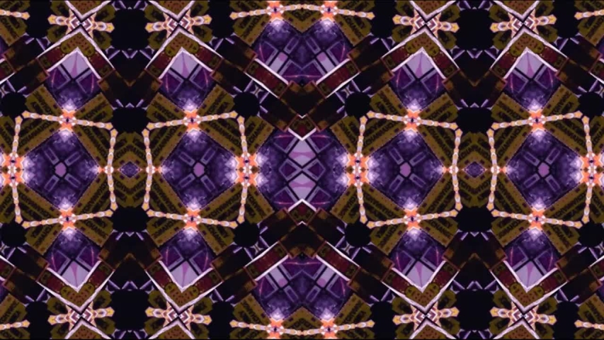 Video abstract geometric background with kaleidoscope effect for exhibition, LED screens, projection mapping, concert, night club, music video, events, and show. | Shutterstock HD Video #1037503604