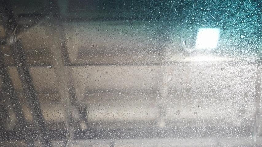 Inside Automatic Car Wash Spraying Truck Windshield | Shutterstock HD Video #1038857744