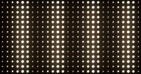Flashing Lights Spotlight Bulb Flood lights Vj Led Wall Stage Led Display Blinking Lights 4K Ultra HD