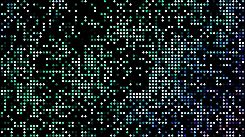 Abstract futuristic background with moving small circles. Animated looping footage.   Shutterstock HD Video #1040015984