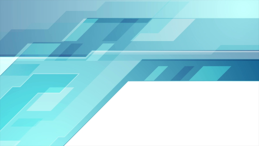 Blue abstract technical geometric minimal motion background seamless looping video animation ultra hd | Shutterstock HD Video #1040486894