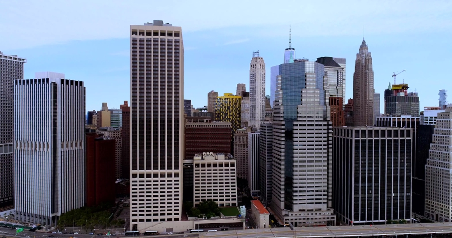 New York City Drone 4k | Shutterstock HD Video #1040794364