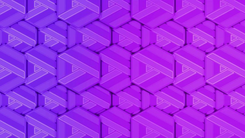 4K wallpaper. Patterns Purple abstract multicolored motion graphics background. | Shutterstock HD Video #1040890484