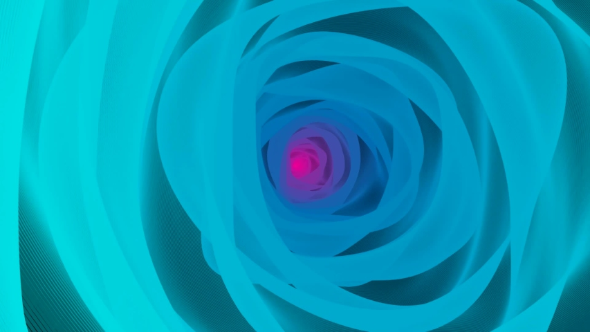 Movement through a bright and colorful tunnel. Dynamic wallpapers in pink and blue colors. Beautiful and smooth 3D animation. | Shutterstock HD Video #1043833474