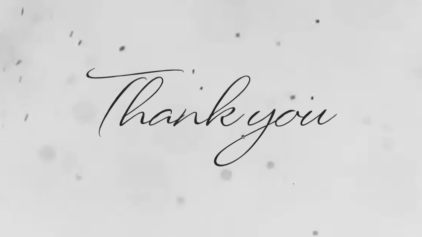 Particel thank you teks animation    Shutterstock HD Video #1044686944