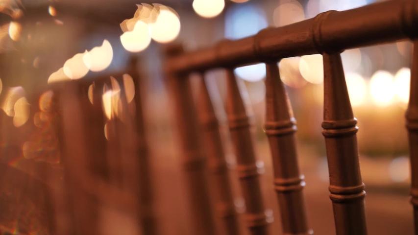 Beautiful Vintage Candle Light Wedding Reception Details    Shutterstock HD Video #1044971314