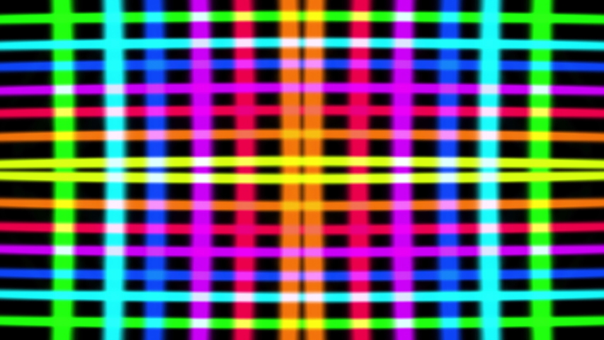 Abstract animation of high energy multi coloured lights flashing. | Shutterstock HD Video #1045184554