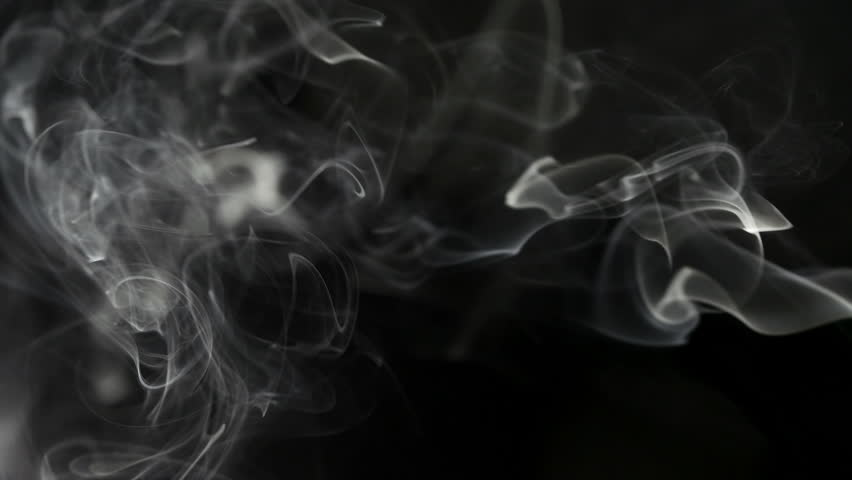 Stock video of smoke drift against black background in 10459454 shutterstock - Dark smoking wallpapers ...