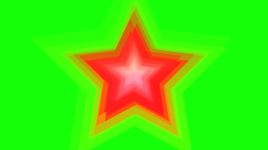 Green background with moving stars    Shutterstock HD Video #1046442424