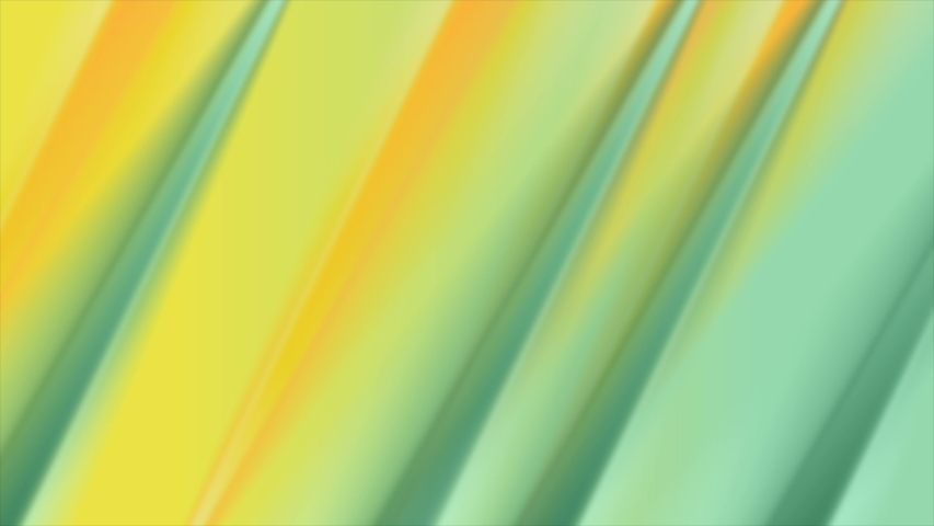 Minty green and yellow smooth stripes abstract modern background. Liquid gradients motion design. Seamless loop. Video animation Ultra HD 4K 3840x2160 | Shutterstock HD Video #1046457754