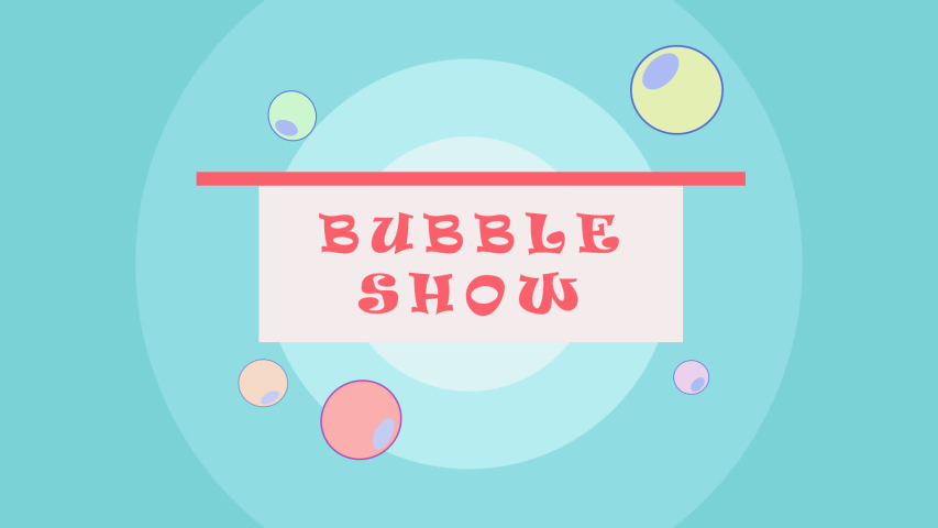 Soap bubble show screen saver and logo. Animation stock | Shutterstock HD Video #1046561734