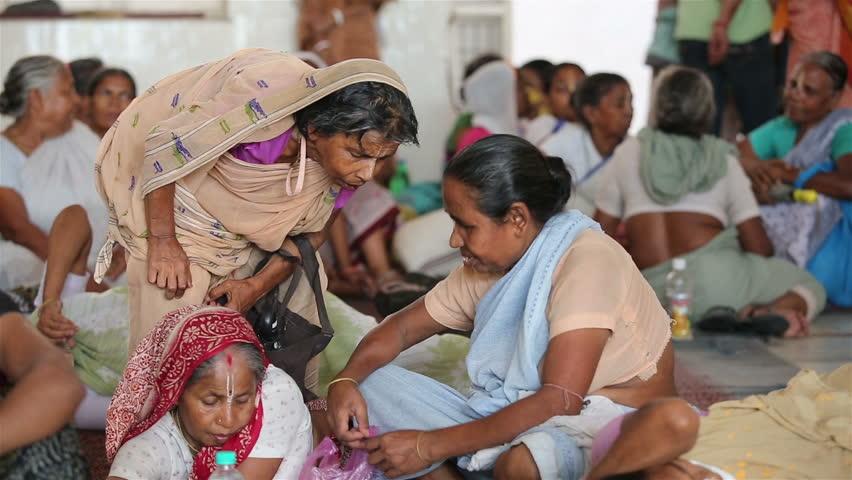 marginalized indian women in inner courtyard essay