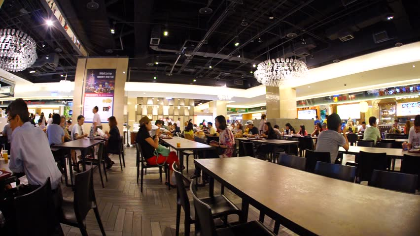 taipei taiwan june 8 food court at a shopping mall on june 8 2015 taipei taiwan east taipei has many large department stores - Large Restaurant 2015