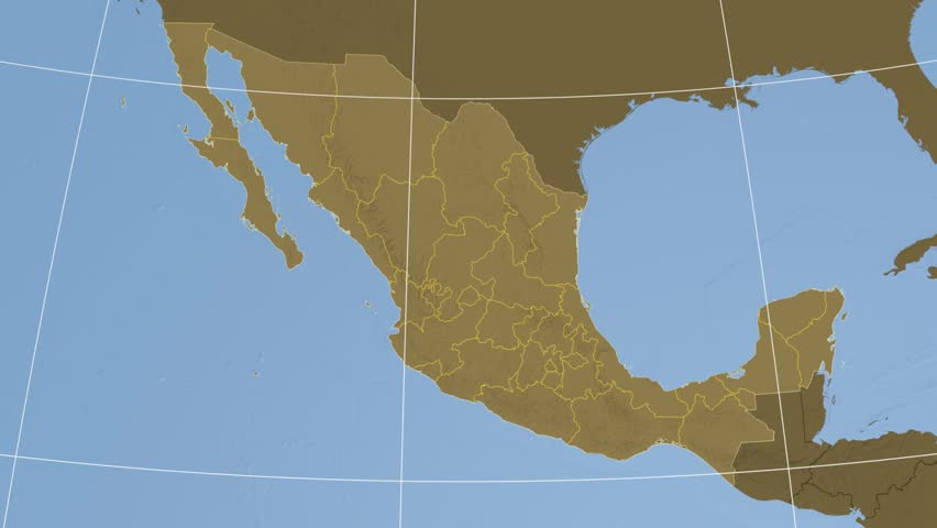 Baja California State Extruded On Stock Footage Video (100% Royalty-free)  10533914 | Shutterstock