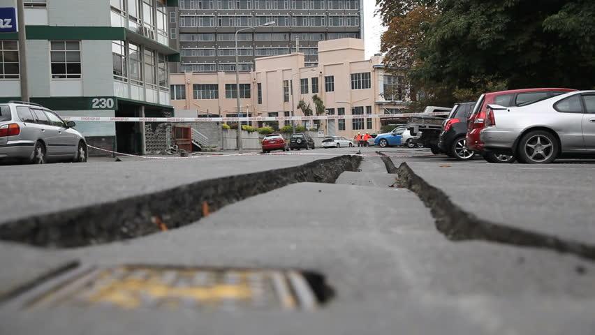 Christchurch Hd: Christchurch Earthquake Stock Video Footage