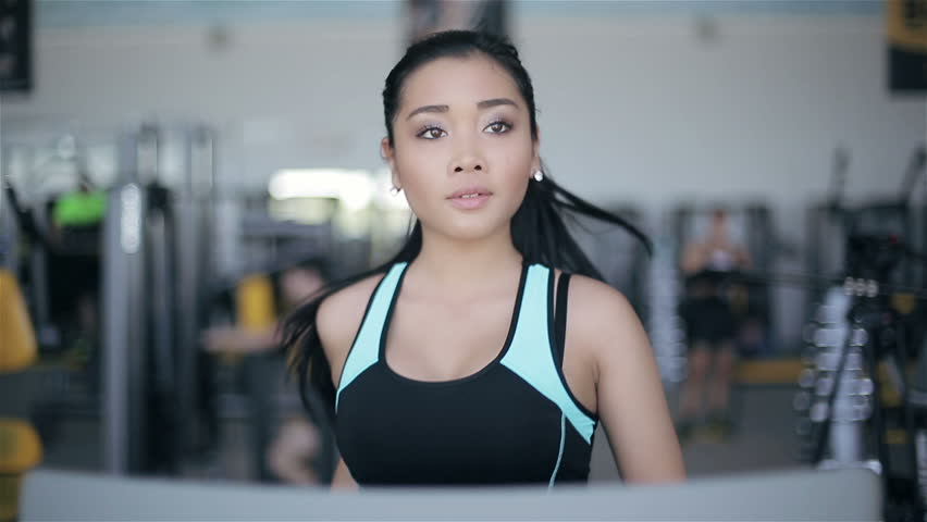 Asian gym girl sorry, that