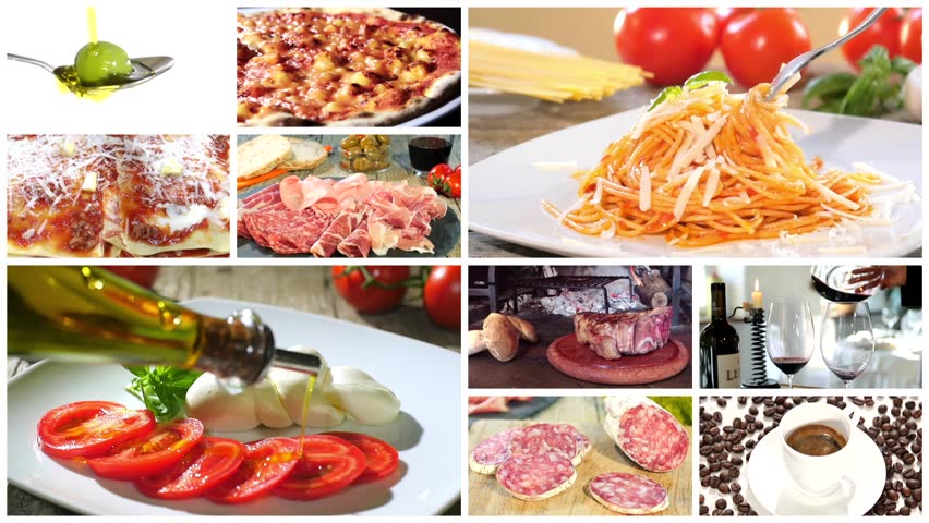 Italian food montage stock footage video 10933934 shutterstock forumfinder Choice Image