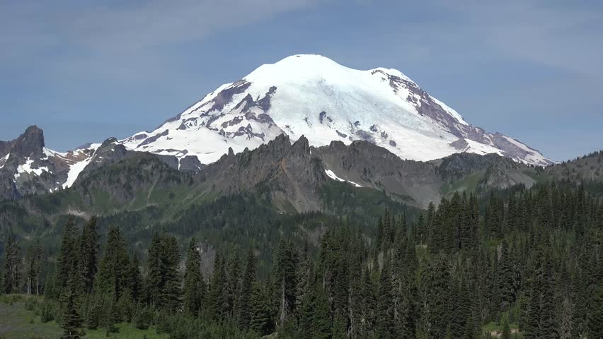 Mount Rainier, Washington from the east