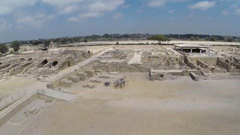 The following aerial footage of Caesarea Maritima, Israel allows you see it in a new perspective and enjoy birds eye view