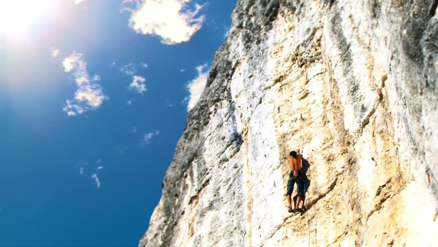 Header of climbing