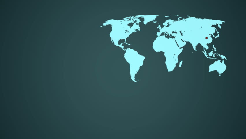Zoom on china territory with location point on world map stock zoom on china territory with location point on world map stock footage video 11244674 shutterstock gumiabroncs Choice Image