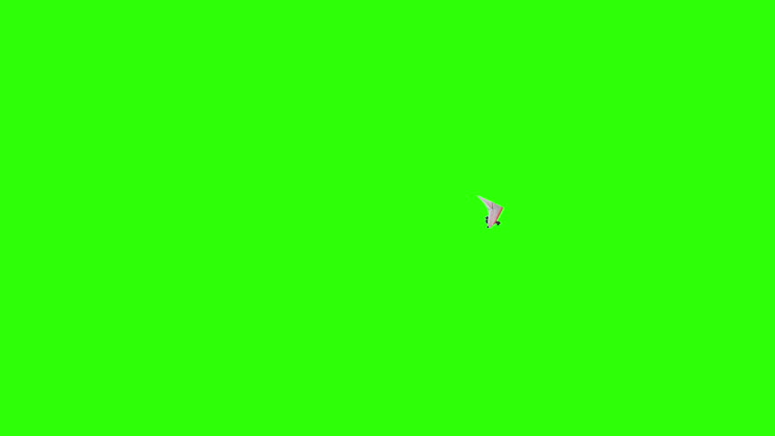 Airplane Flying Green Screen #11302334