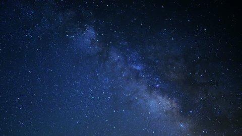 Sedona Milky Way 18 Bell Rock Time Lapse Stars