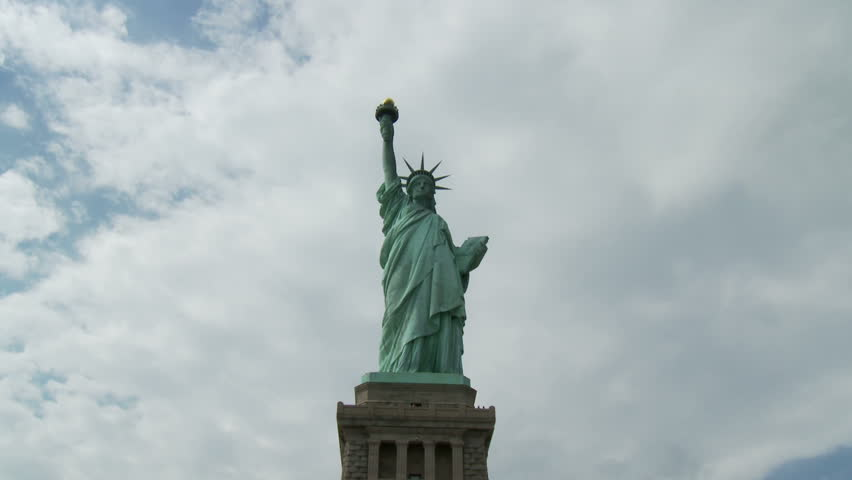 Statue of Liberty Time Lapse | Shutterstock HD Video #1142974