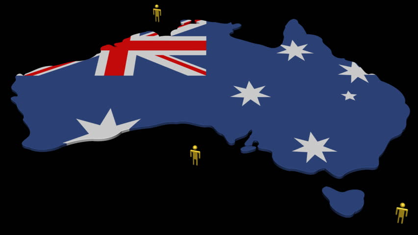 Map Of Australia Hd.Australia Map Flag With Many Stock Footage Video 100 Royalty Free 1143184 Shutterstock