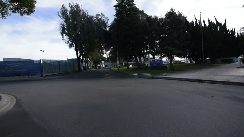 Driving Plates Multi Angle Harbor Set#04 CAM1 Front Marina Del Rey 60fps | Shutterstock HD Video #11511674