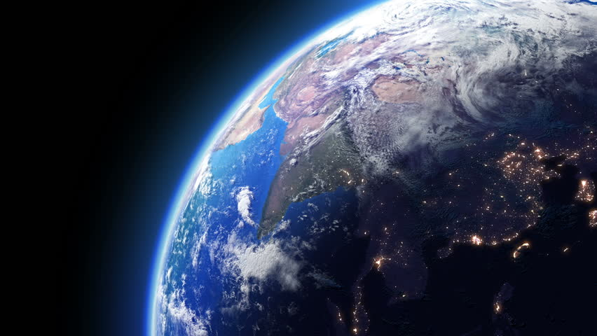 earth from space alien invasion 01 usa stock footage video