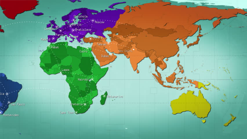 Time Zone World Time Zone World Time Lapse Map Of World Time