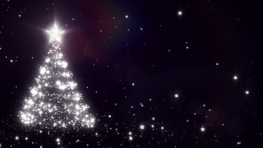 christmas background with bright snow blue bright