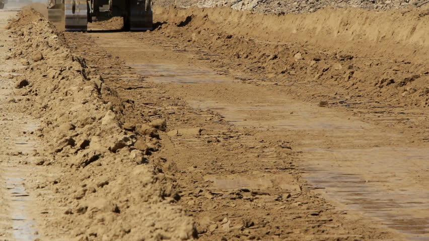 Close up of tracked bulldozers at work   Shutterstock HD Video #11892884