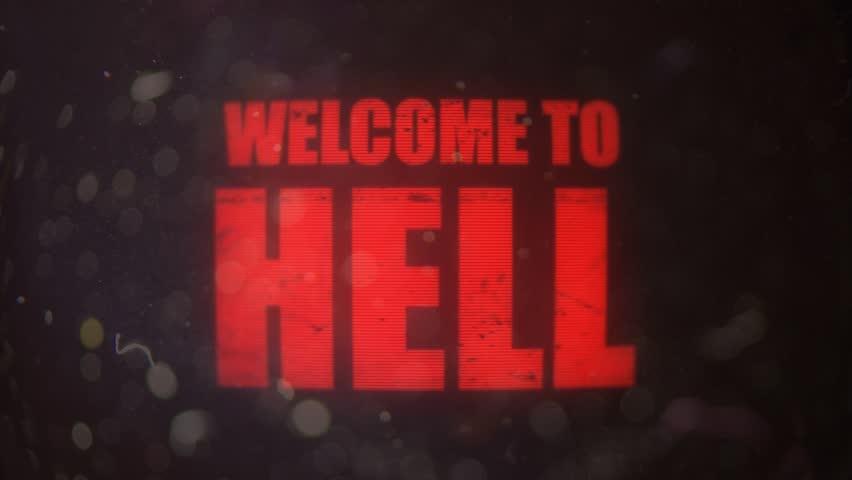 Картинка с надписью ад