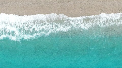 Playa de los Muertos - Andalusian Beach aerial video. Spanish landscape