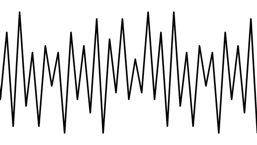 Graphical representation of pulses in seamless loop full HD 1920x1080 7s 29.97Fps. | Shutterstock HD Video #12144884
