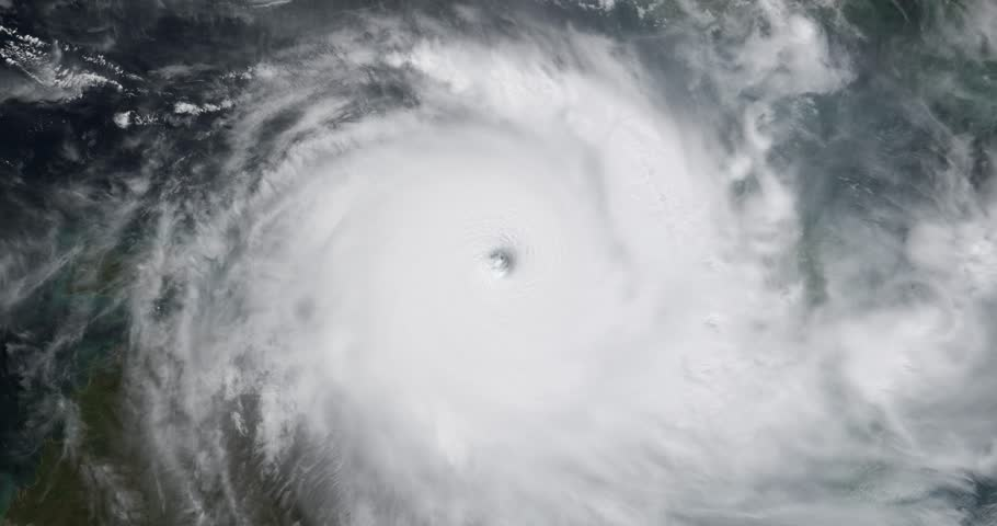 View from Orbit of Cyclone Stock Footage Video (100% Royalty-free) 12178394  | Shutterstock