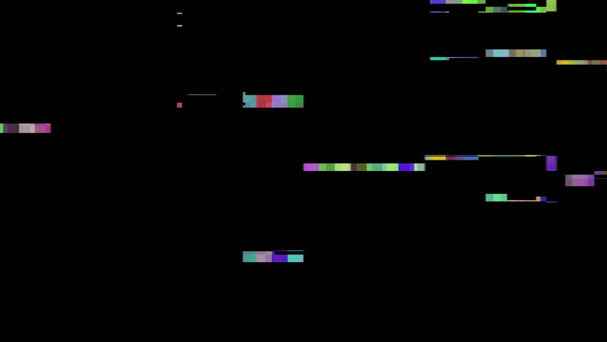 Digital glitches artifacts codec tape damage grunge interference 4K | Shutterstock HD Video #12220829