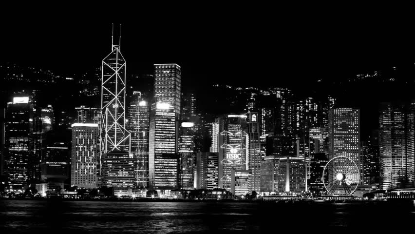 Stock video of monochrome timelapse of symphony of lights 12240884 shutterstock