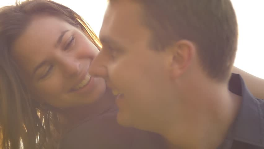 Happy young couple enjoying an intimate moment, laughing a lot and being happy | Shutterstock HD Video #12266474