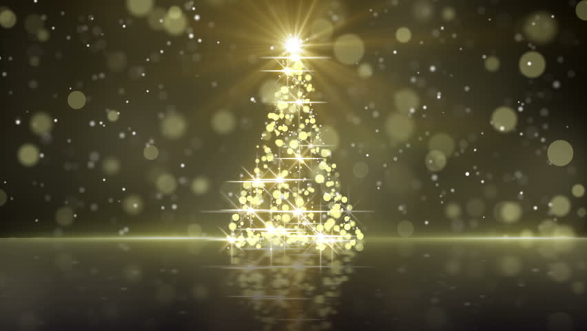 Christmas Tree Shape Of Gold Stock Footage Video 100 Royalty Free 12310814 Shutterstock