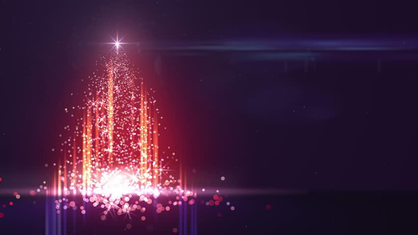 Sparkle Christmas Fire Tree Outdoor Lights Sparkling In The Dark  - Outdoor Christmas Tree Made Of Lights