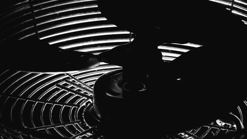 working electric fan